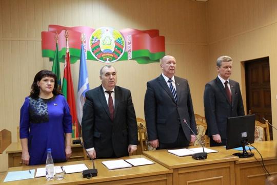 В Полоцке прошла очередная сессия депутатского райсовета