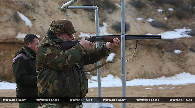 В Полоцком районе стрелки соревновались на меткость