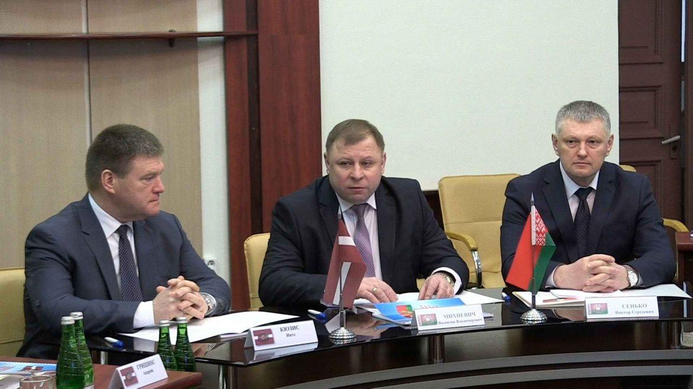 В Полоцке совещались руководители уголовной полиции Латвии и криминальной м ...