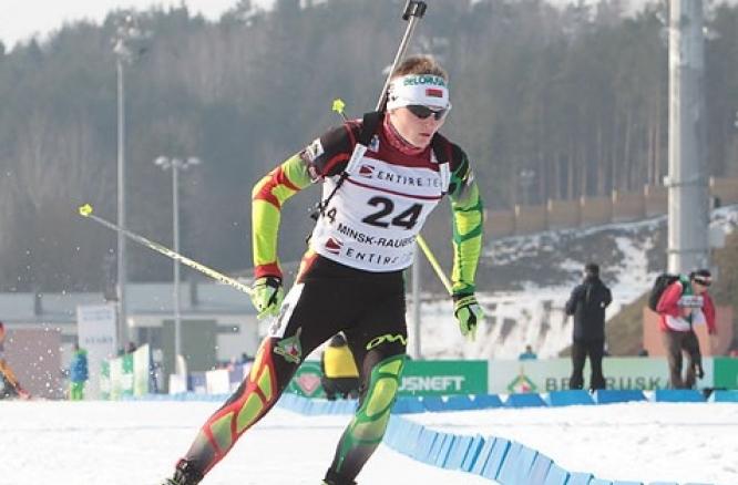Воспитаннику новополоцкой лыжной школы удалось выиграть вторую золотую медаль европейского биатлонного чемпионата