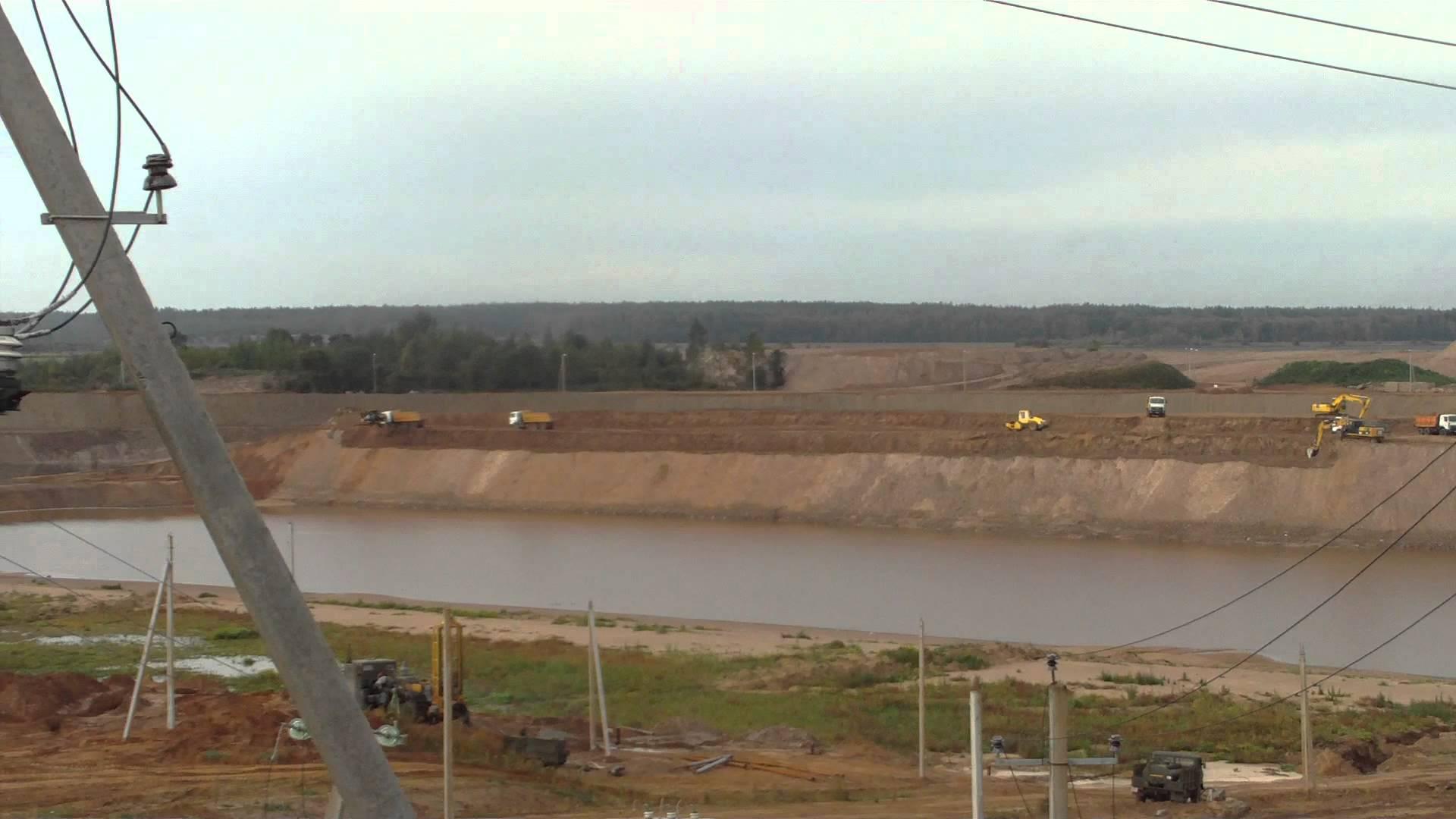 Работы по строительству Полоцкой ГЭС подошли к 70-процентному завершению