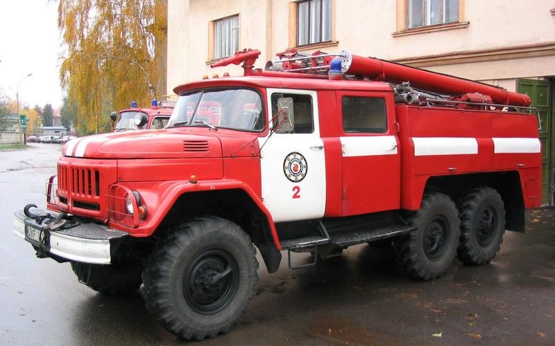 В ночь на 06 апреля в Полоцке горела квартира
