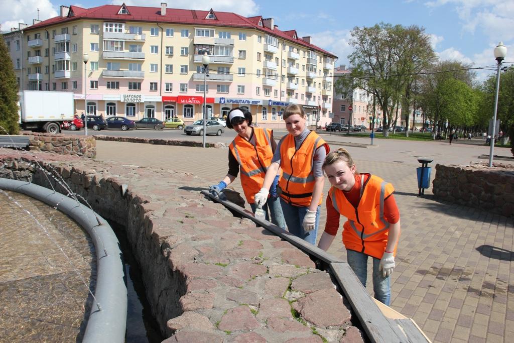 Накануне Дня города Полоцк преображается