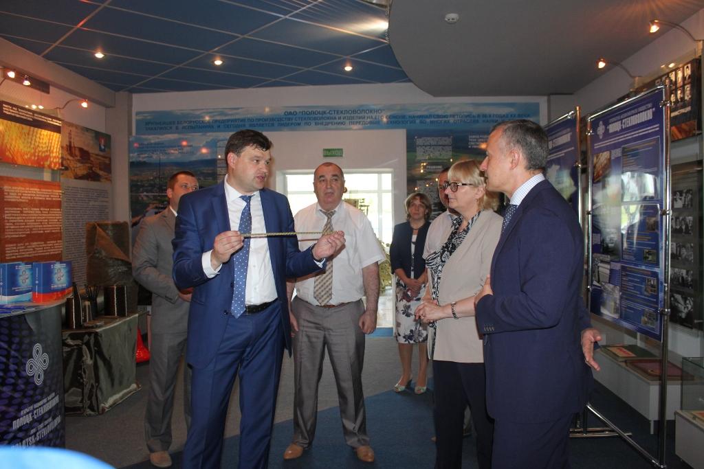 Состоялся визит Василия Матюшевского в Полоцкий регион