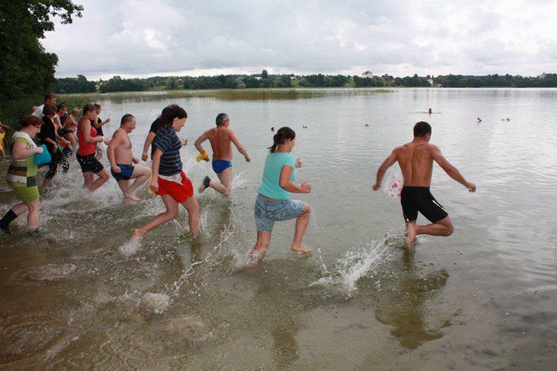 Полоцкий район приглашает на поиски редкой рыбы селявы на озеро Белое, что  ...