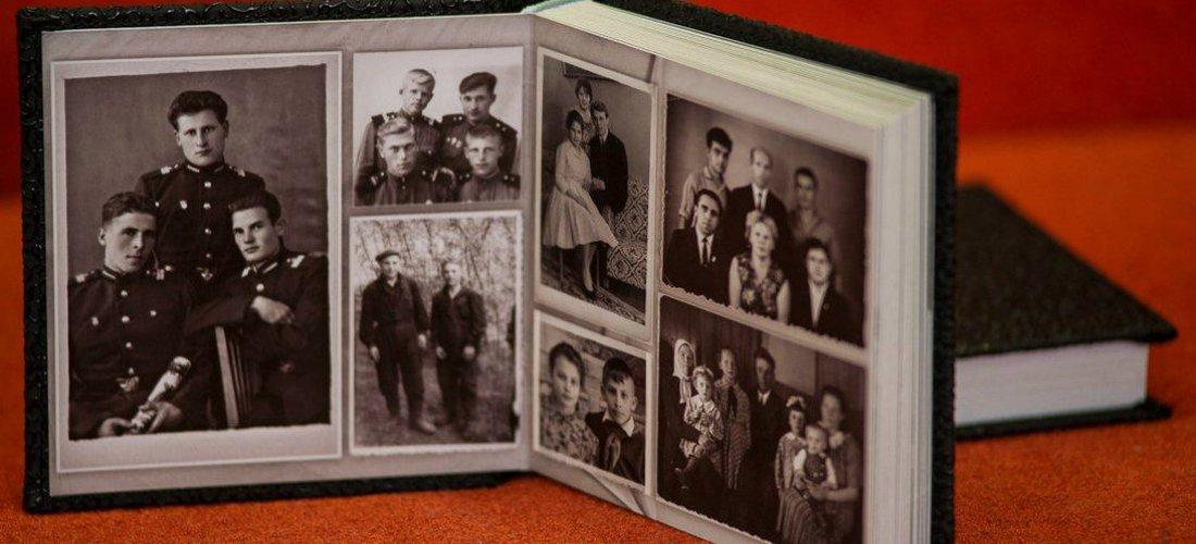 Современные семейные фотоальбомы