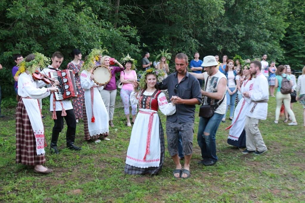 На Полотчине отметили праздник Купалья 2016