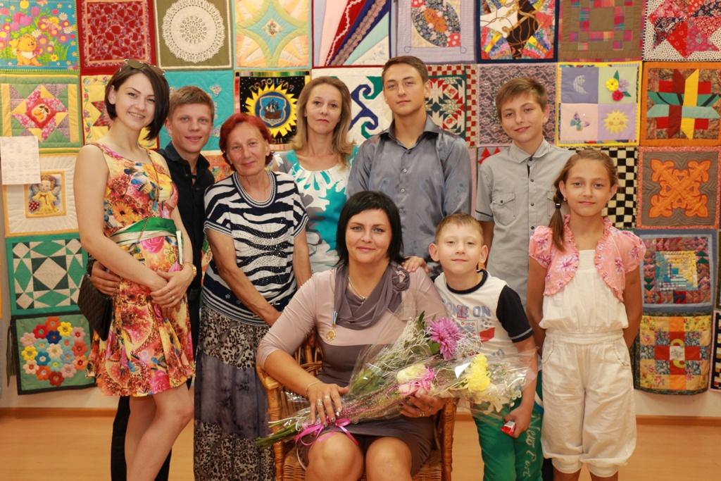 Полочанка Наталья Рабчинская стала обладательницей почетного Ордена Матери