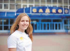 13-летняя воспитанница нафтановской спортивной школы защитила титул мастера спорта по плаванию