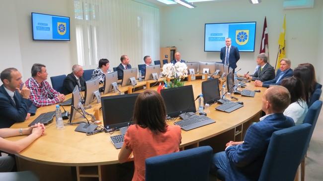 Новополоцкая делегация побывала в латвийском Смилтене