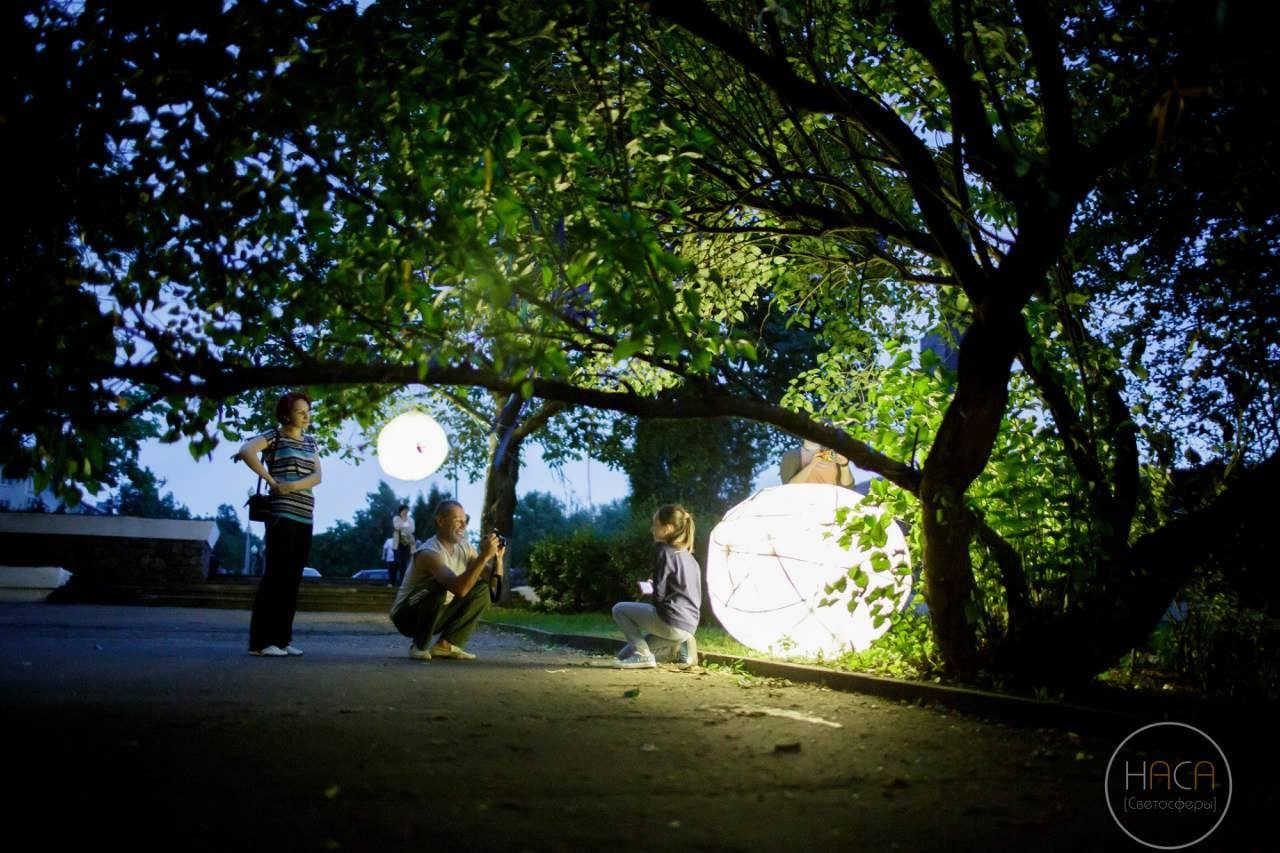 В Полоцке реализовали проект «Светосферы»