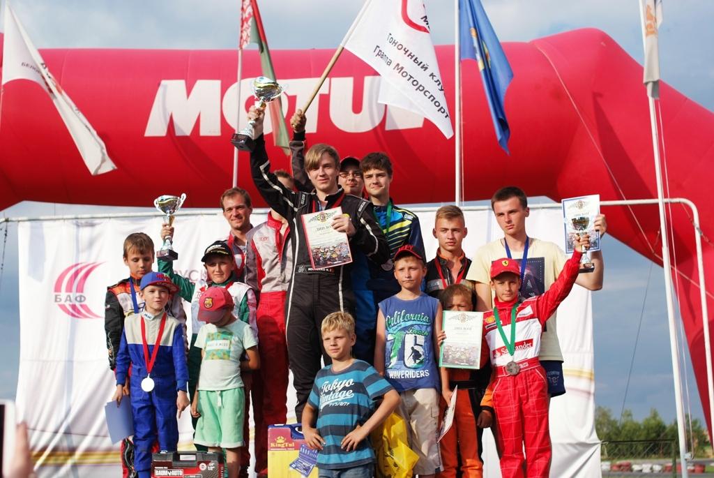 Полоцкие картингисты вернулись домой с победой