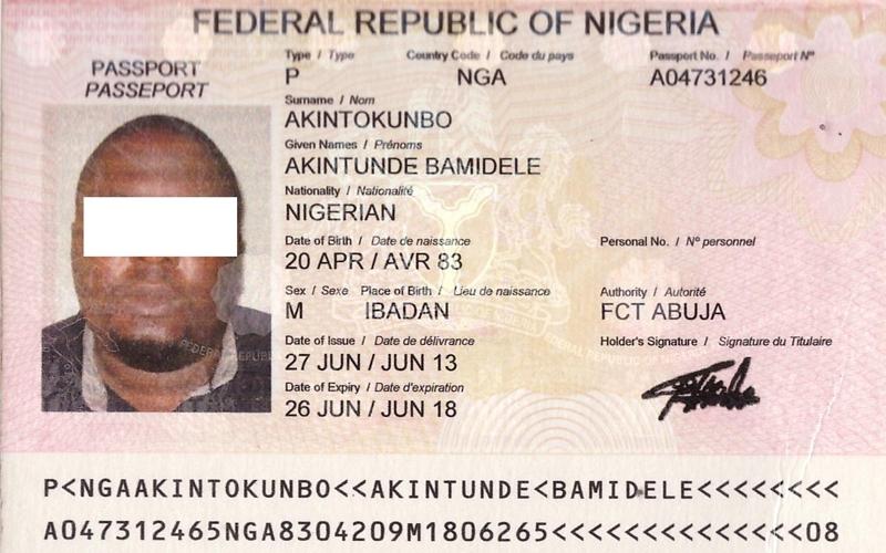 Полоцкими пограничниками задержан гражданин Нигерии с поддельными документами