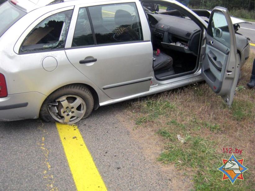 Ужасное дорожно-транспортное происшествие под Полоцком