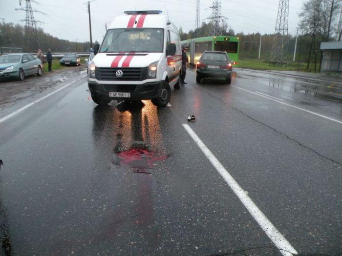 Ужасающее ДТП В Новополоцке (есть жертвы)