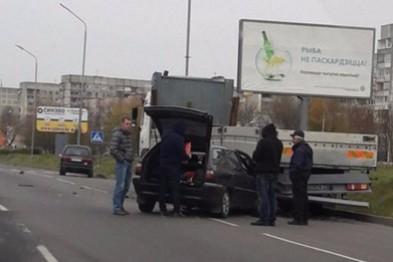 В Новополоцке ДТП, среди пострадавших маленький ребенок