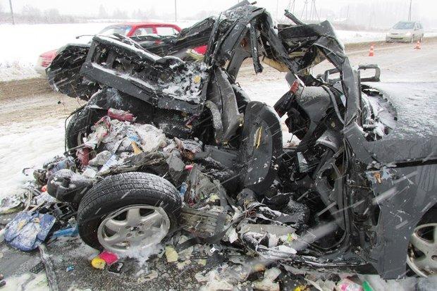 Жуткое ДТП в Полоцке - трое погибших