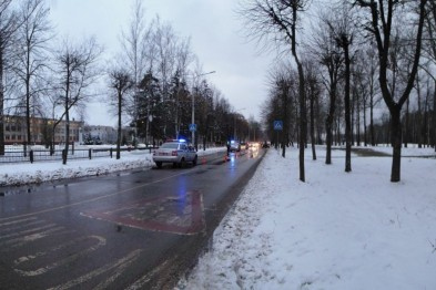 Погода руководит Новополоцкими дорогами
