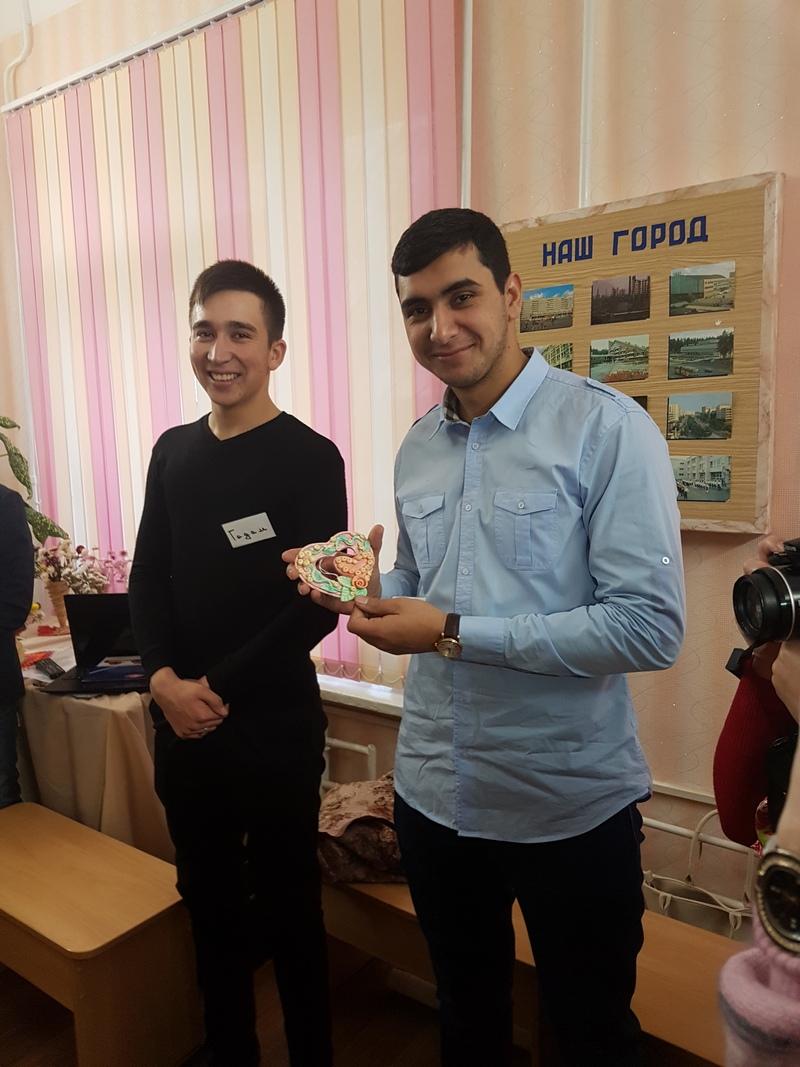 Иностранные студенты юридического факультета побывали в гостях у Института Золотого возраста г. Новополоцка