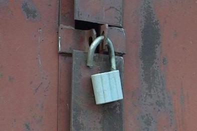 В Новополоцке орудует взломщик гаражей