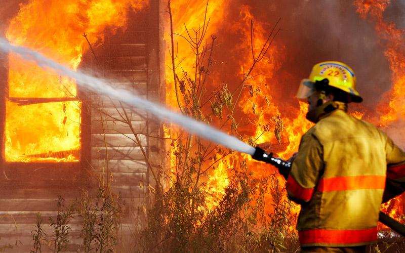 Недавний пожар в Полоцке оказался умышленным поджогом