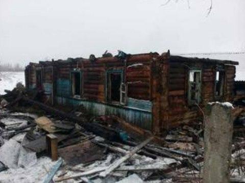 Ужасная трагедия - в пожаре погибло трое молодых людей