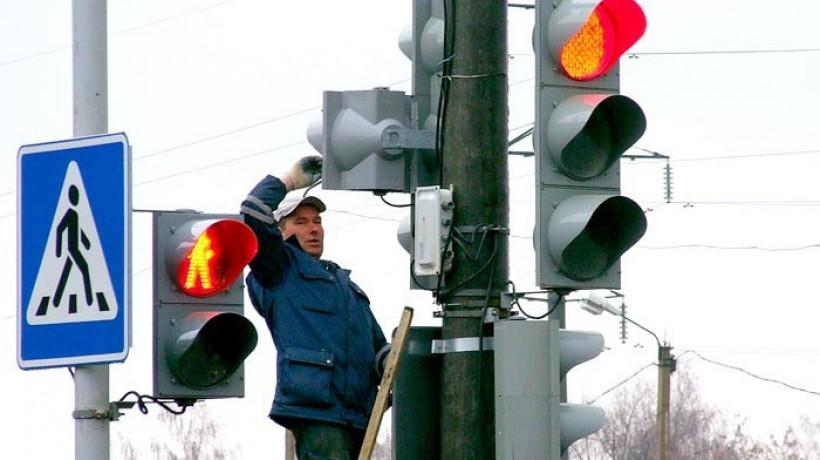 Режим работы светофоров изменен после крупного ДТП на площади Свободы