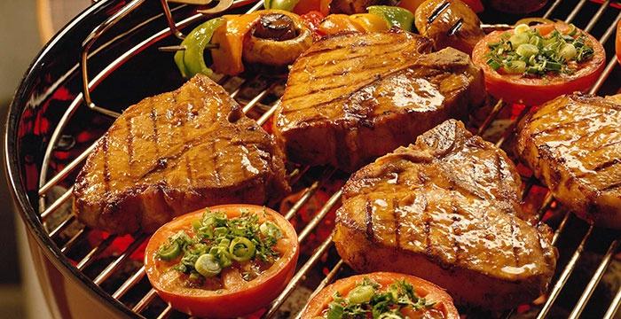 Готовим мясо на гриле прямо в своей квартире!
