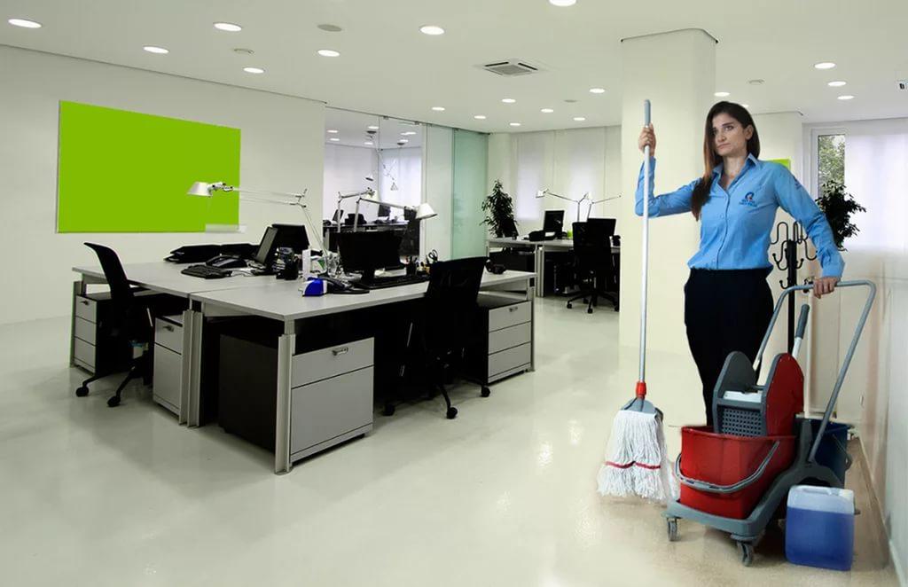 Лучшая уборка вашего офиса только с нами