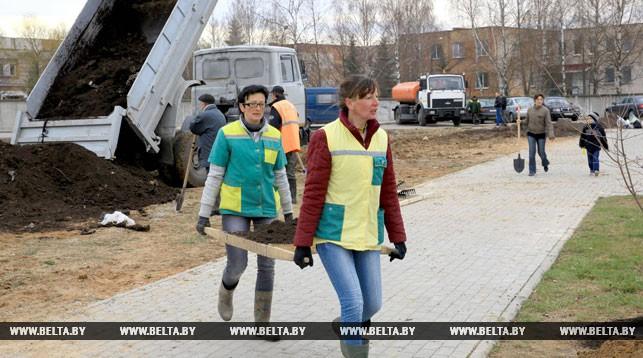 В Витебске 1 апреля пройдет общегородской субботник