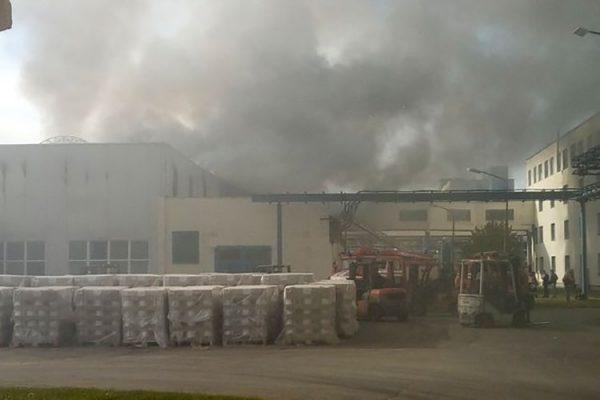 Что происходит на «Полоцк-Стекловолокно» после случившегося пожара