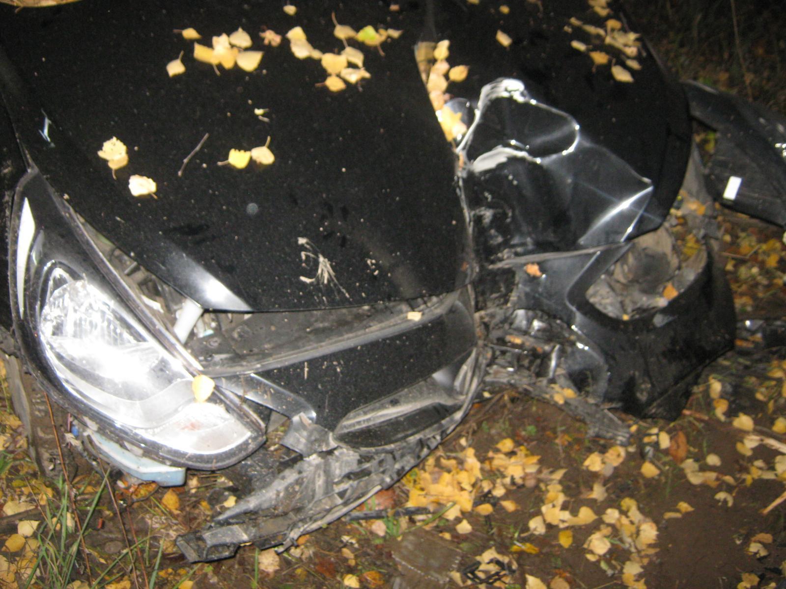 Авария с летальным исходом возле деревни Ясенки Краснопольского района
