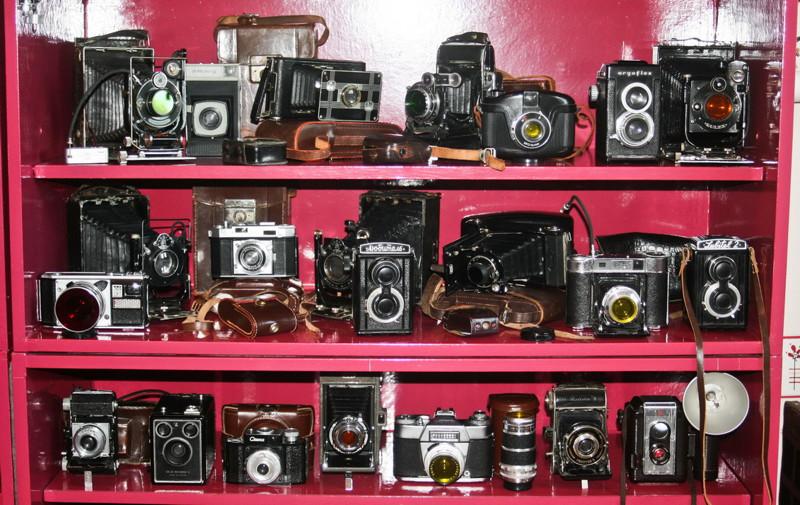 Фотограф из Новополоцка собрал более 700 фотоаппаратов!