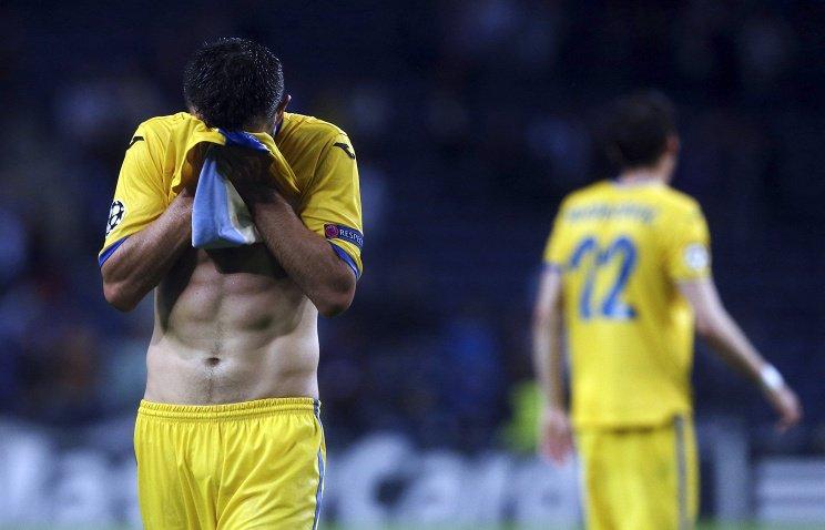 Клуб БАТЭ был наказан УЕФА за инцидент со зрителем, который выбежал на сцену