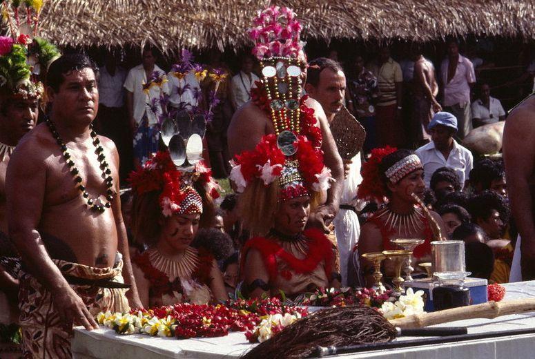 Похоронные обряды и традиции в государстве Самоа