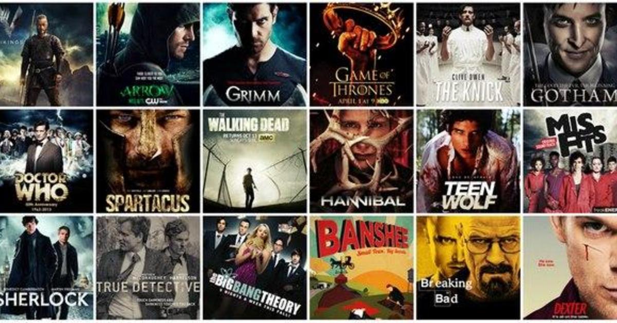 Популярные сериалы
